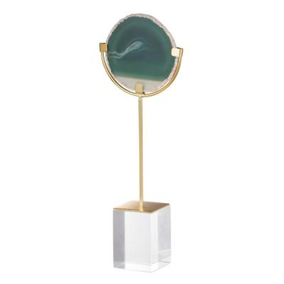 Green Floating Agate