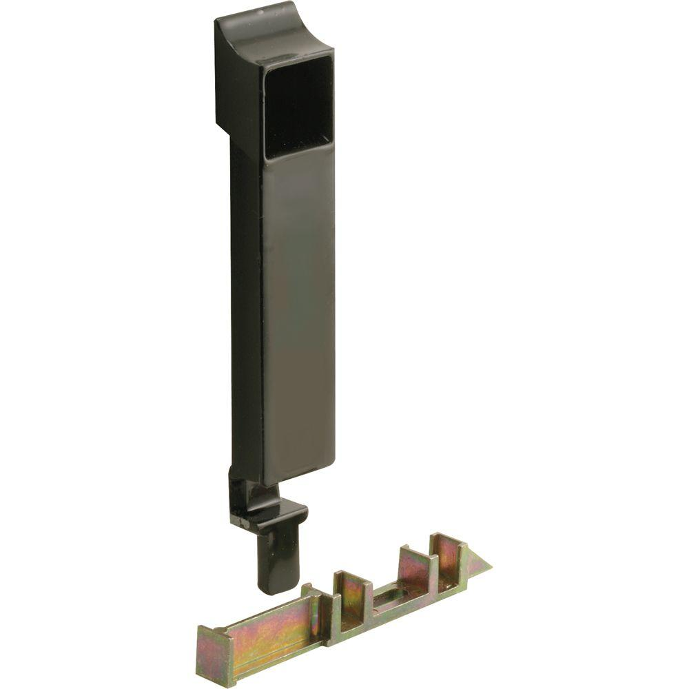 Acorn Black Sliding Window Latch and Keeper
