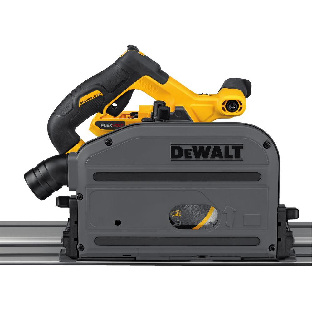 FLEXVOLT 60-Volt MAX Lithium-Ion Cordless Brushless 6-1/2 in. Track Saw