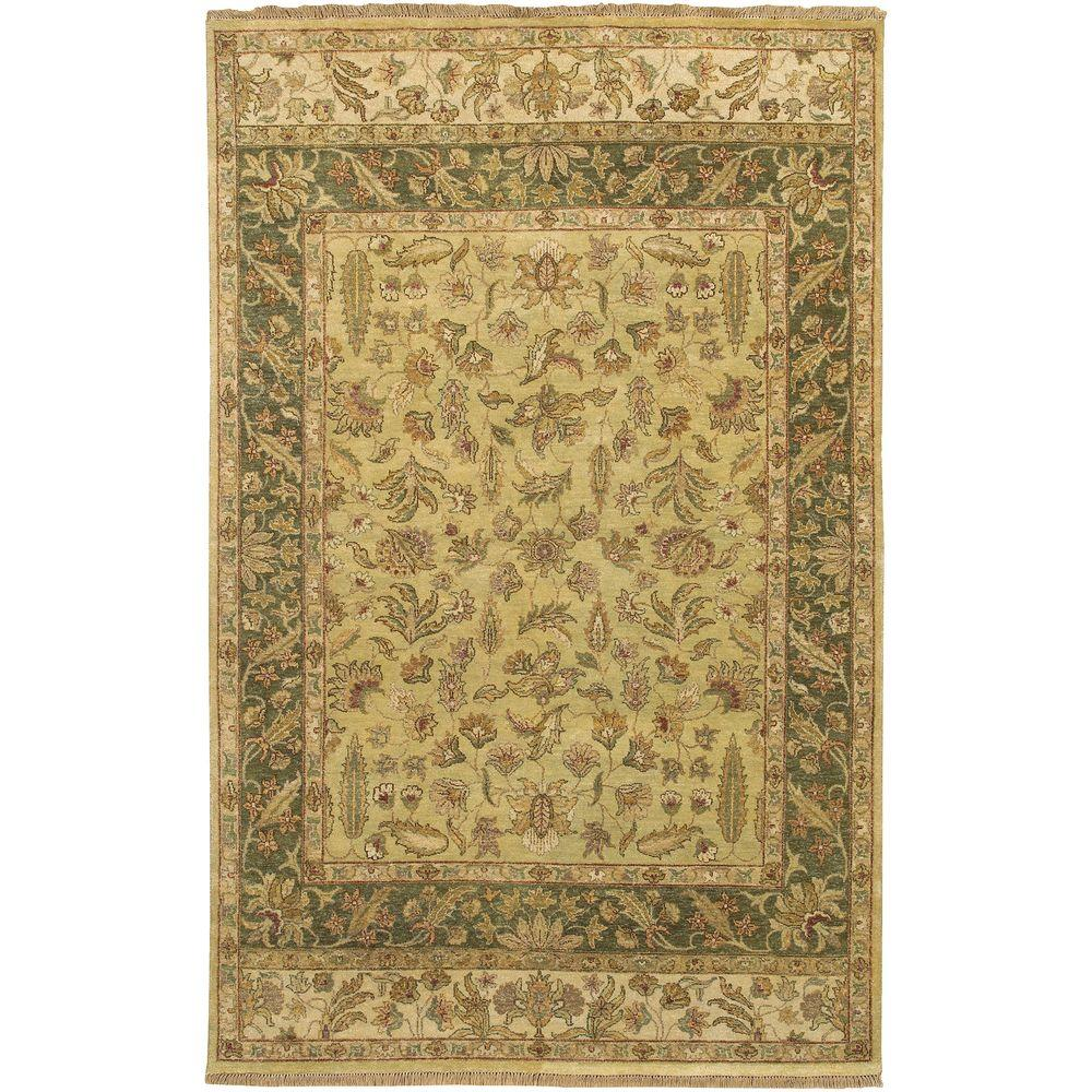 Artistic Weavers Amba Light Green 3 ft. 9 in. x 5 ft. 9 in. Area Rug