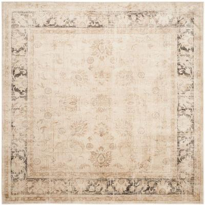 Vintage Stone 8 ft. x 8 ft. Square Area Rug