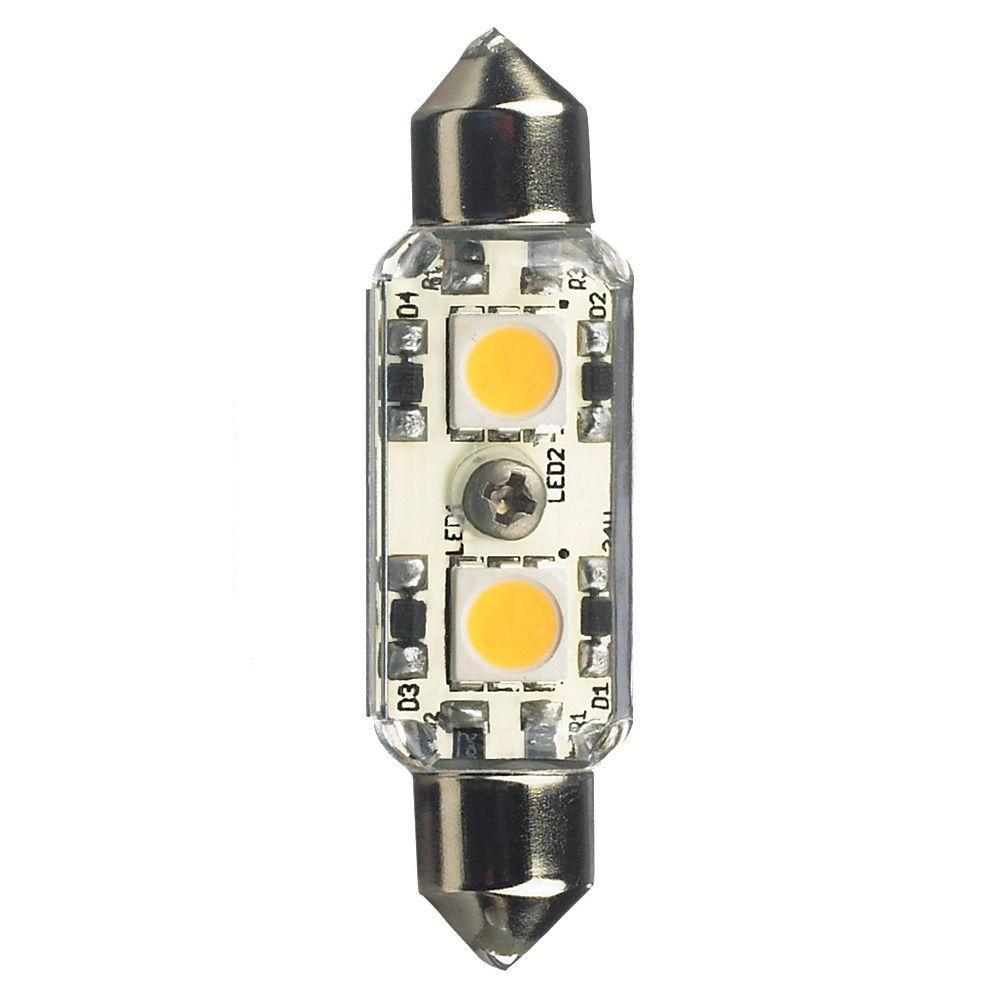 Ambiance 12-Volt LED Clear Festoon Lamp (4000K)