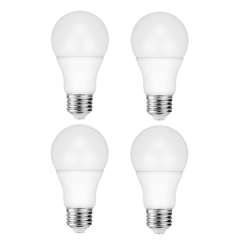60-Watt Equivalent A19 Dimmable LED Light Bulb Daylight (4-Pack)