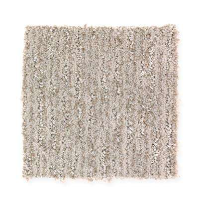 Carpet Sample-Lanning - Color Stepping Stone Pattern 8 in. x 8 in.