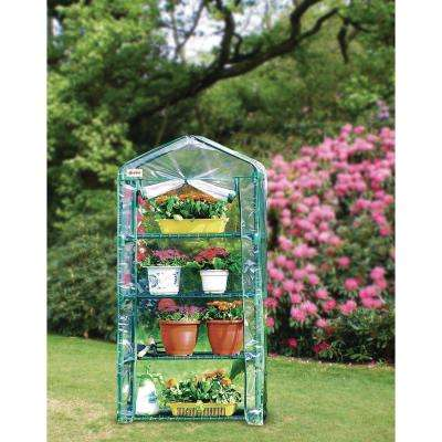 4-Tiered Mini Greenhouse