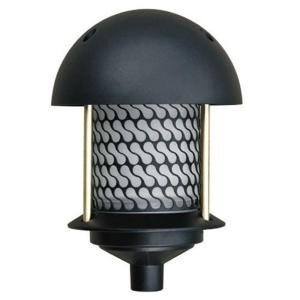 Filament Design Corbin 1-Light Black Round Top Outdoor Pagoda Pathway Light by Filament Design