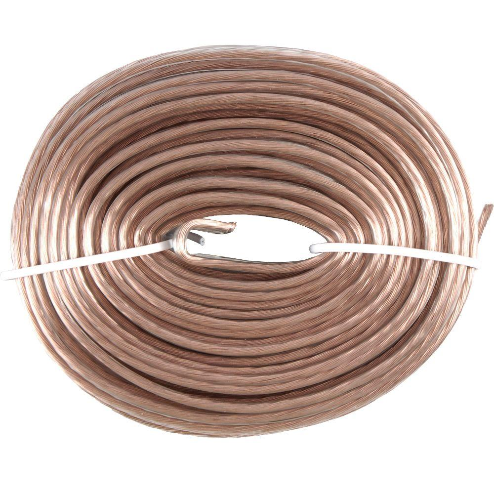 GE 50 ft. 18-Gauge Speaker Wire - Stranded