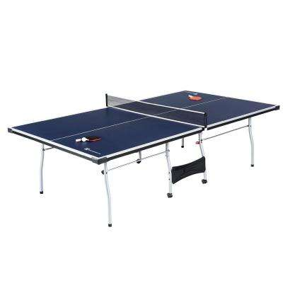 Official Tournament Size 4-Piece Table Tennis Table