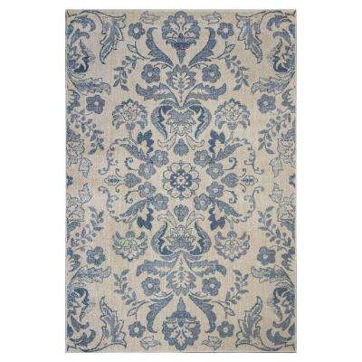 Floral Affair Ivory 2 ft. 2 in. x 3 ft. 3 in. Area Rug