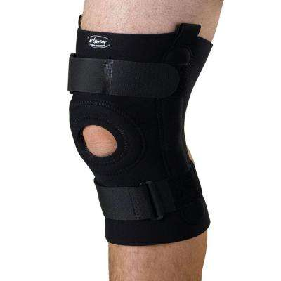 Extra-Large U-Shaped Hinged Knee Support