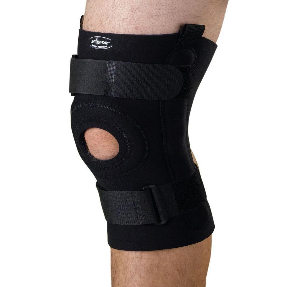 Extra-Large U-Shaped Hinged Knee Support