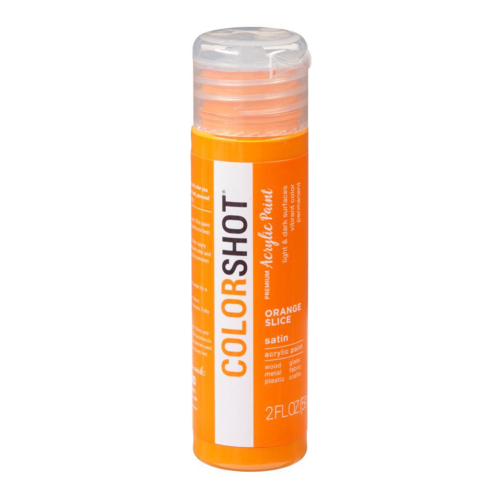 COLORSHOT 2 oz. Orange Slice Orange Craft Paint