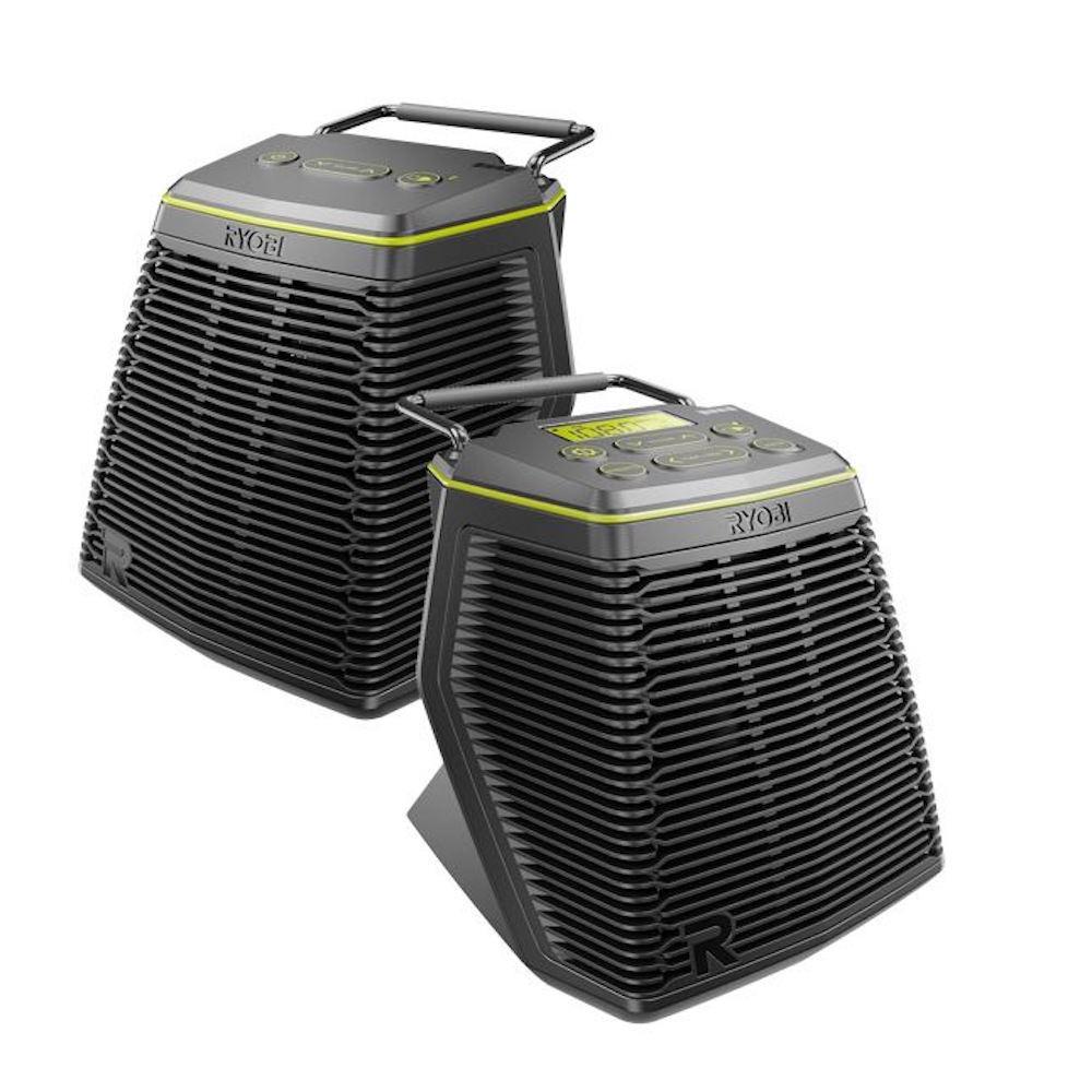 RYOBI 18-Volt ONE+ Hybrid Score Wireless Speaker Set with SKAA  Technology-P765 - The Home Depot
