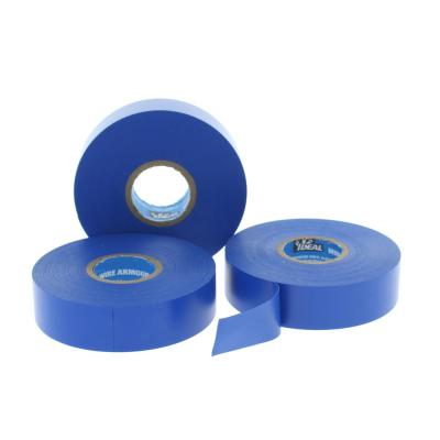 Wire Armour 3/4 in. x 66 ft. Premium Vinyl Tape, Blue (10-Pack)