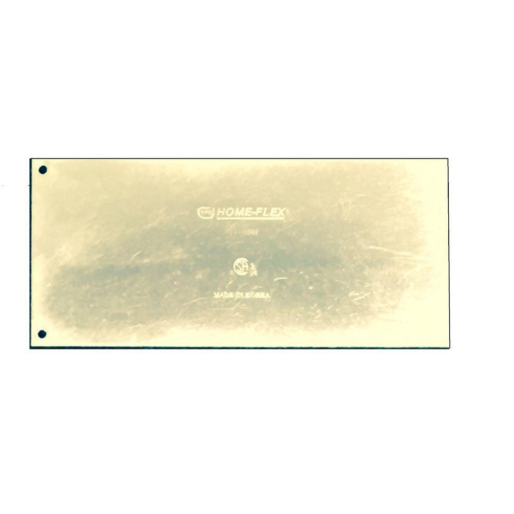 null 4 in. x 9 in. CSST Striker Plate