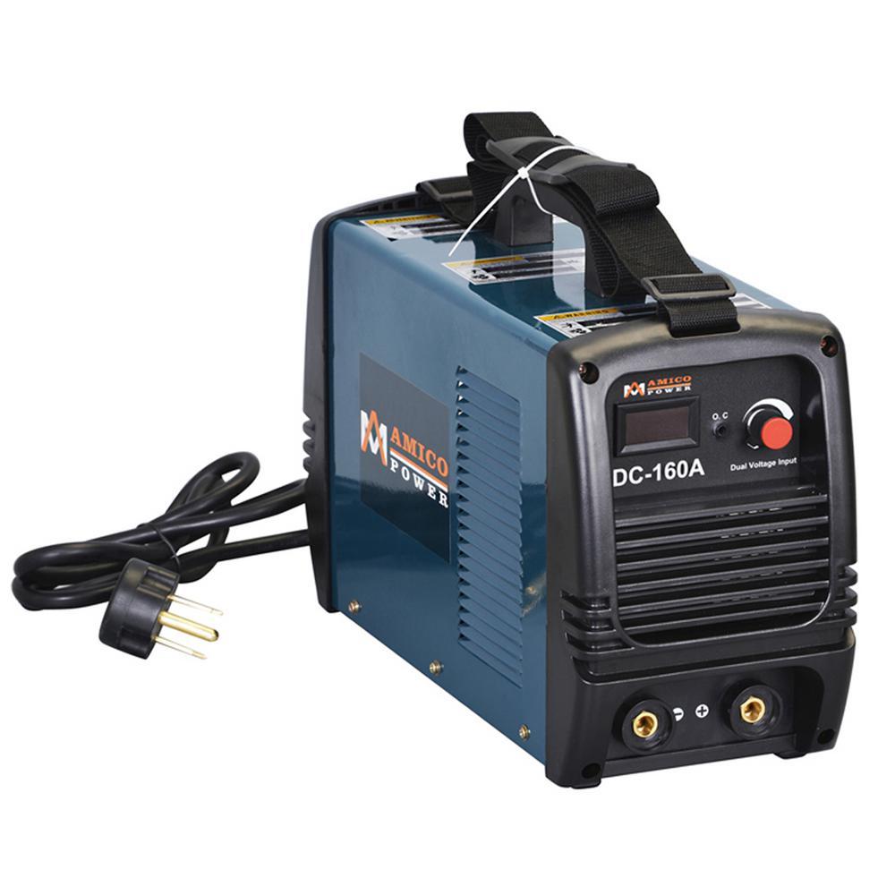 AMICO POWER Amico 160 Amp Stick arc DC Inverter Welder IGBT 115-Volt and 230-Volt Dual Voltage Welding Machine... by AMICO POWER