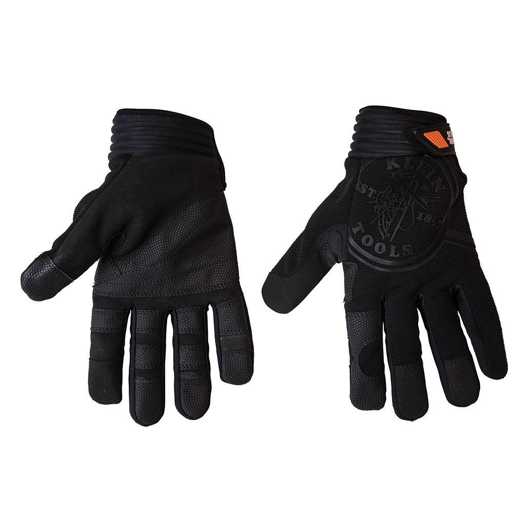 Klein Tools Journeyman Medium Black Wire Pulling Gloves-40232 - The ...