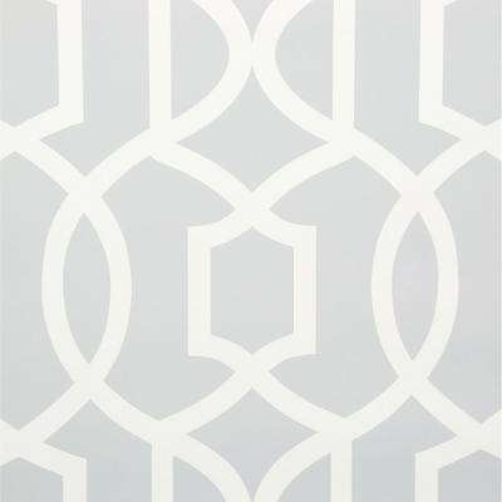 30.75 sq. ft. Grey Grand Trellis Peel and Stick Wallpaper
