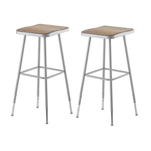Excellent Heavy Duty Black Backless Metal Bar Stool Wood Seat Ncnpc Chair Design For Home Ncnpcorg