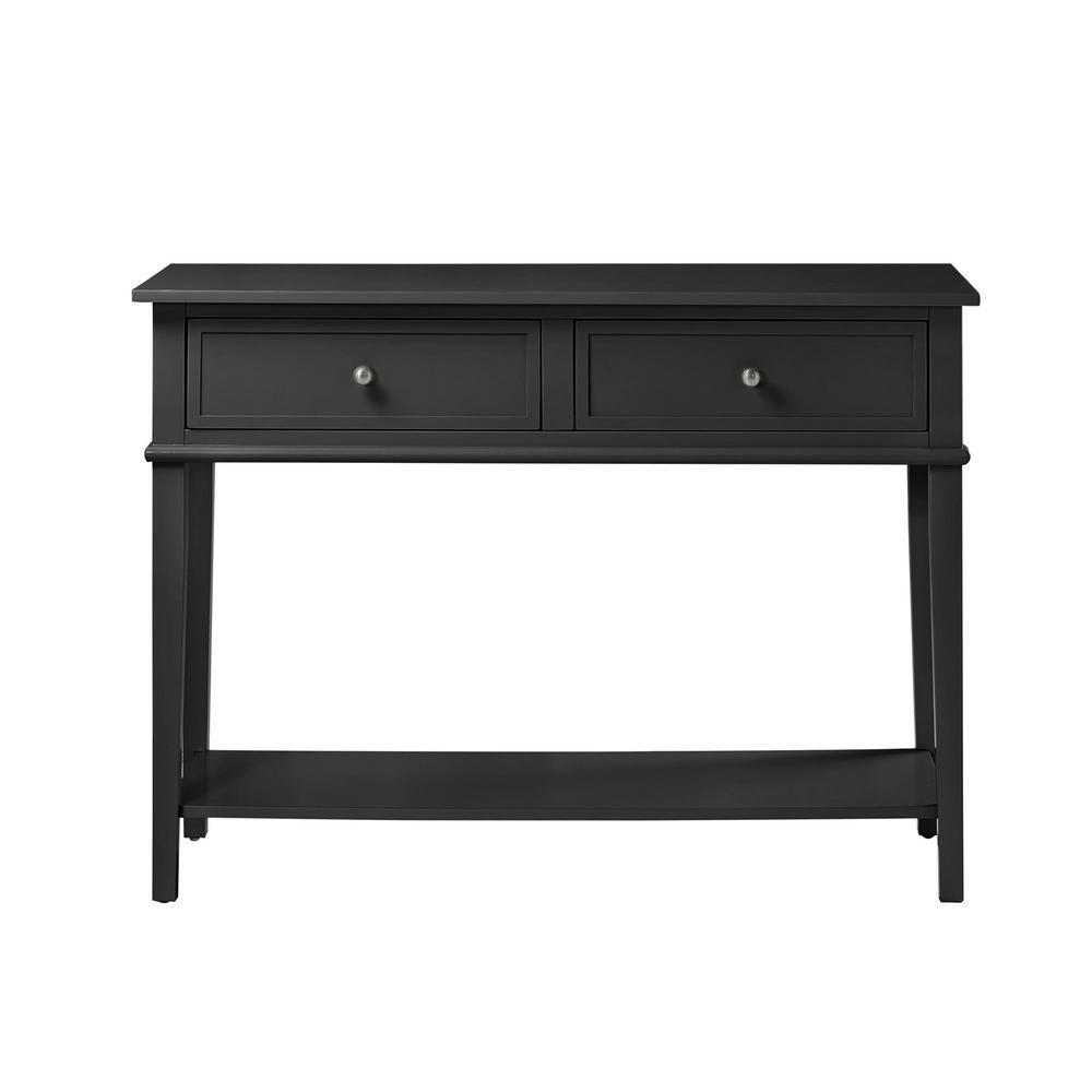 Queensbury Black Sofa Table