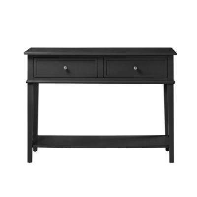 Queensbury Black Sofa Table