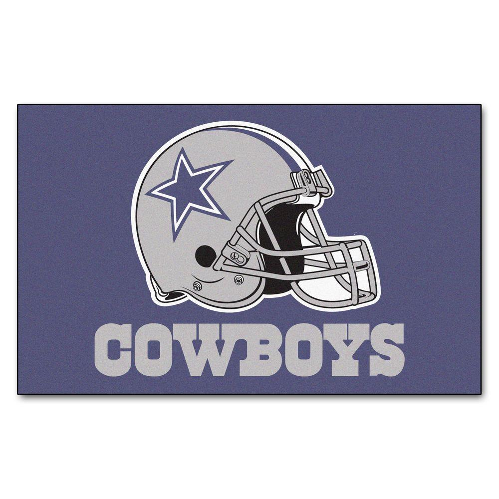 Fanmats Dallas Cowboys 5 Ft X 8 Ft Ulti Mat 5729 The