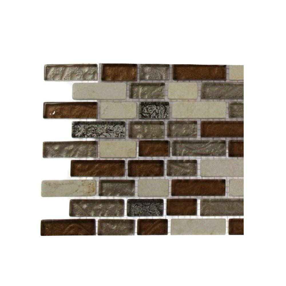 Splashback Tile Suede Shoe Brick Pattern Marble And Gl Floor Wall 6 In