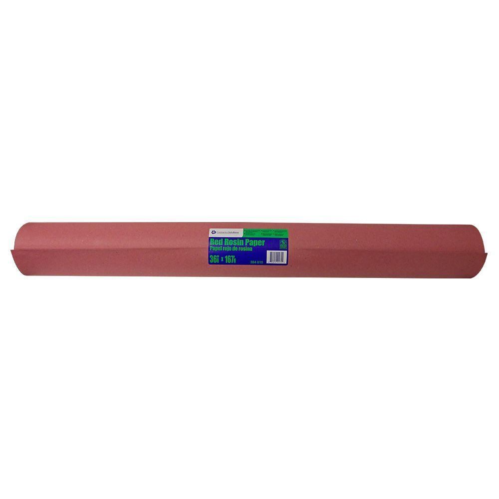 Pratt Retail Specialties 36 x 166 ft. Red Builder's Paper