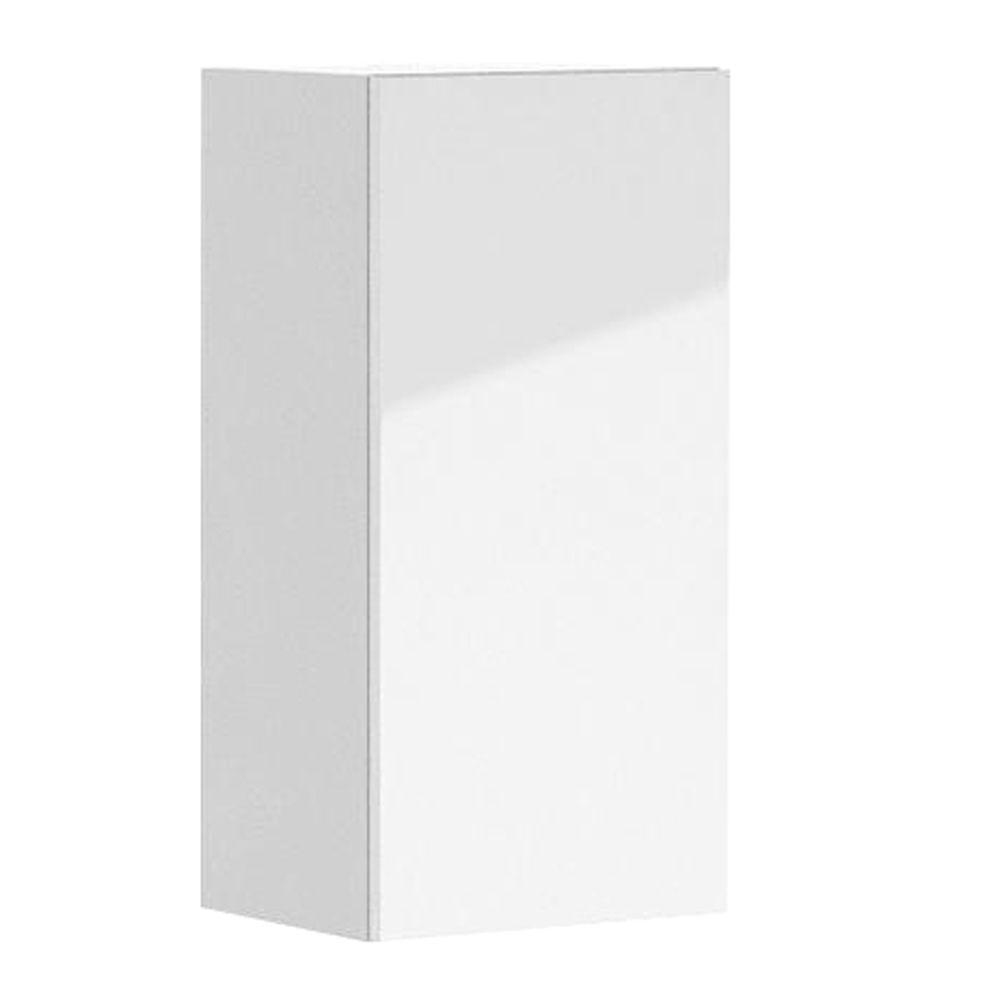 Eurostyle Valencia Ready to Assemble 15 x 30 x 12.5 in. Wall Cabinet in White Melamine and Door in White