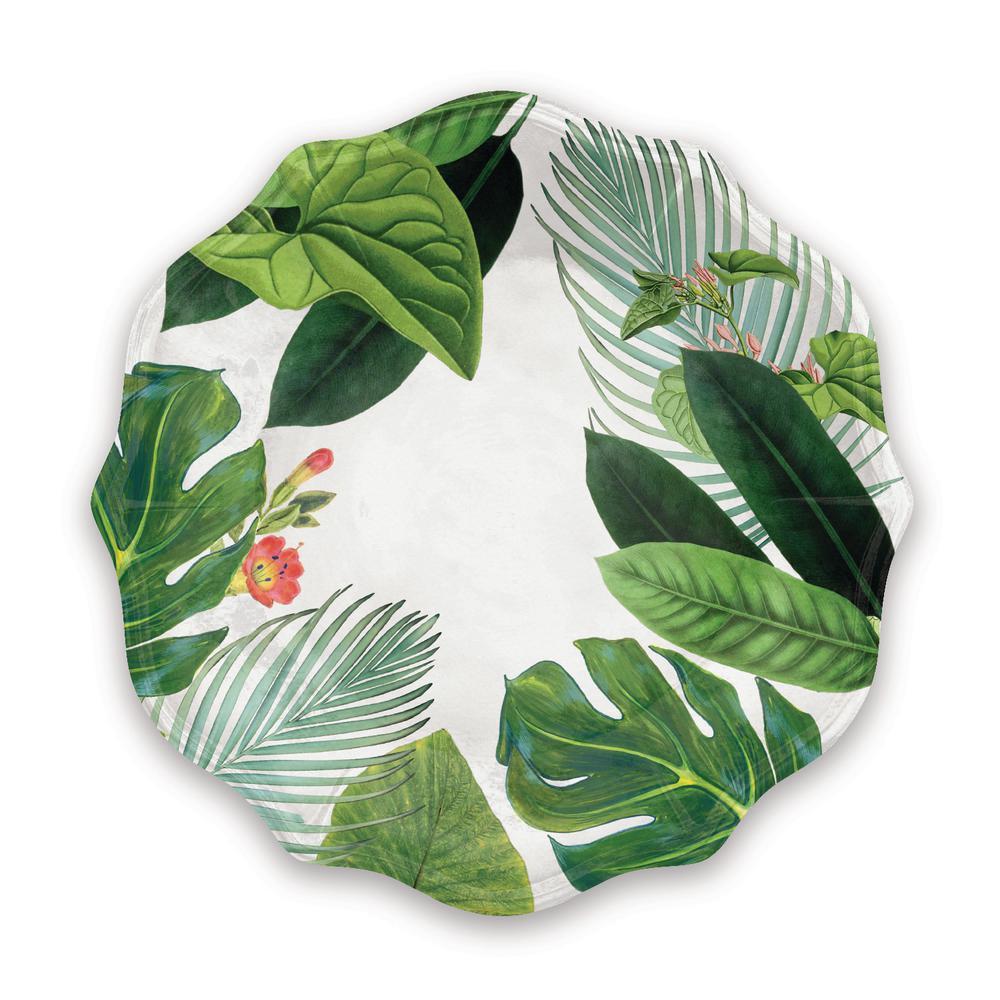 Savino Amazon Green Linen Dinner Plate (Set of 6)