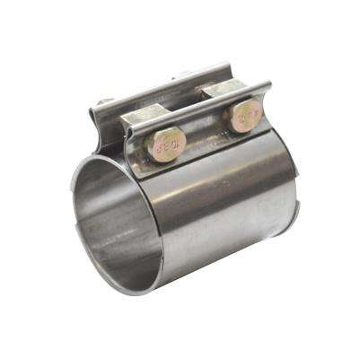 TC Series Heavy Duty SS Exhaust Sleeve Butt Joint Clamp for 2.5in O.D. Tubing