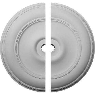 44-1/2 in. O.D. x 4 in. I.D. x 4 in. P Classic Ceiling Medallion (2-Piece)