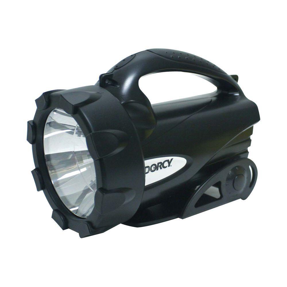95 Lumen - 4D/6-Volt LED Lantern Flashlight with Battery