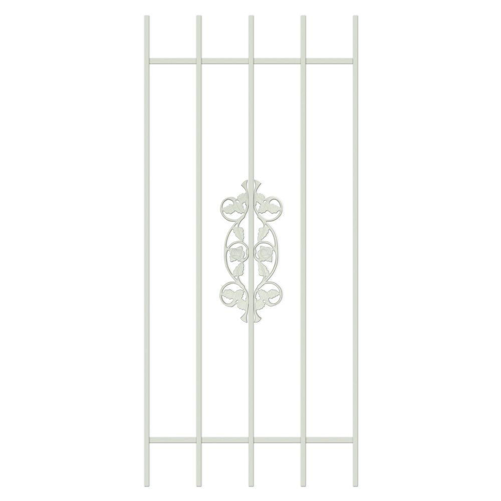 Unique Home Designs Rambling Rose 24 in. x 54 in. Almond 5-Bar Window Guard-DISCONTINUED