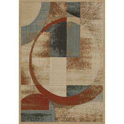 Soho Shapes Tonel 7 ft. x 10 ft. Area Rug