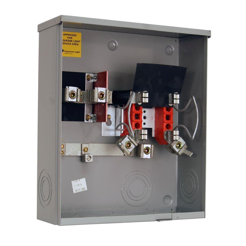 milbank 200 amp ringless sideway wire way underground horn ... 200 amp meter socket outside wiring diagram #12