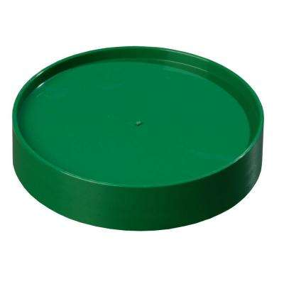Replacement Lid Only for Stor 'N Pour Pouring System, Fits All Sized Containers in Green (Case of 12)
