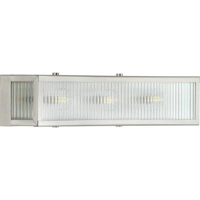 Dwyer 3-Light Galvanized  Bath Light