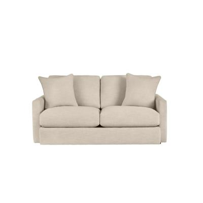 Rutherford Cambric Biscuit Beige Straight Standard Sofa  for 2 (71.5 in. W x 35 in. H)