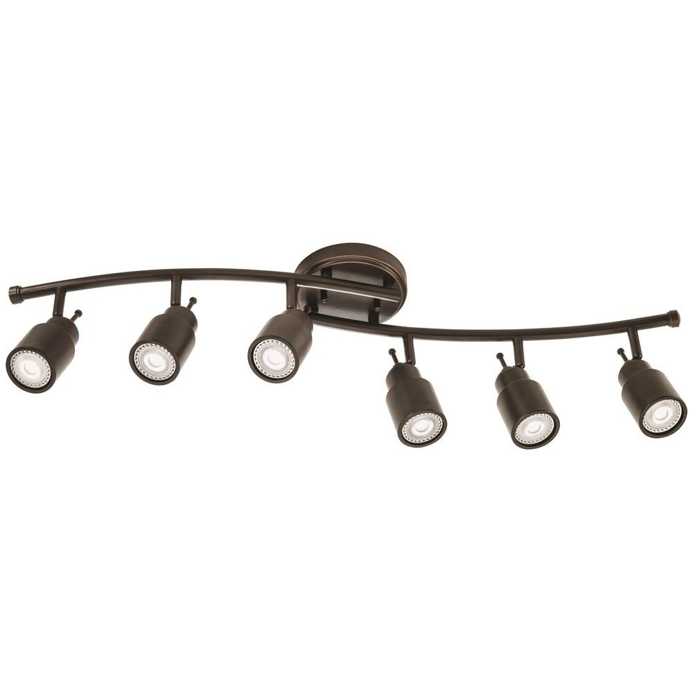 Lithonia Lighting 32 In. 6-Light Oil-Rubbed Bronze Linear