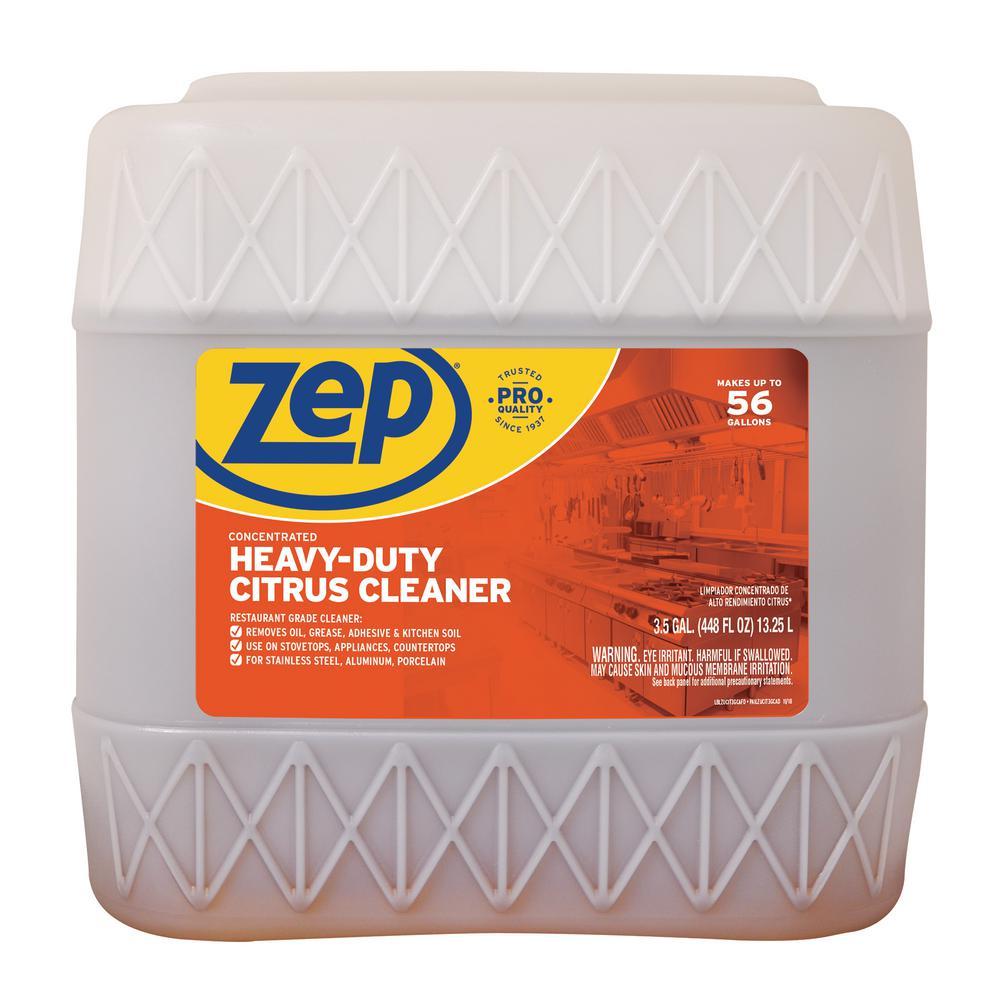 ZEP 3 5 Gal  Heavy-Duty Citrus Cleaner Degreaser