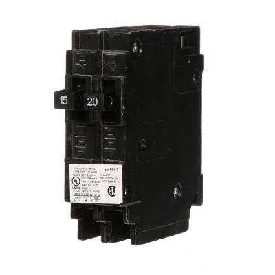 15/20 Amp Single-Pole Type MH-T Tandem Circuit Breaker