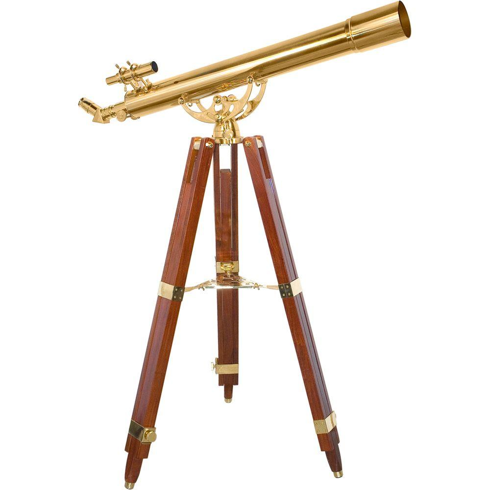 36 Power 90080 Anchormaster Brass Telescope