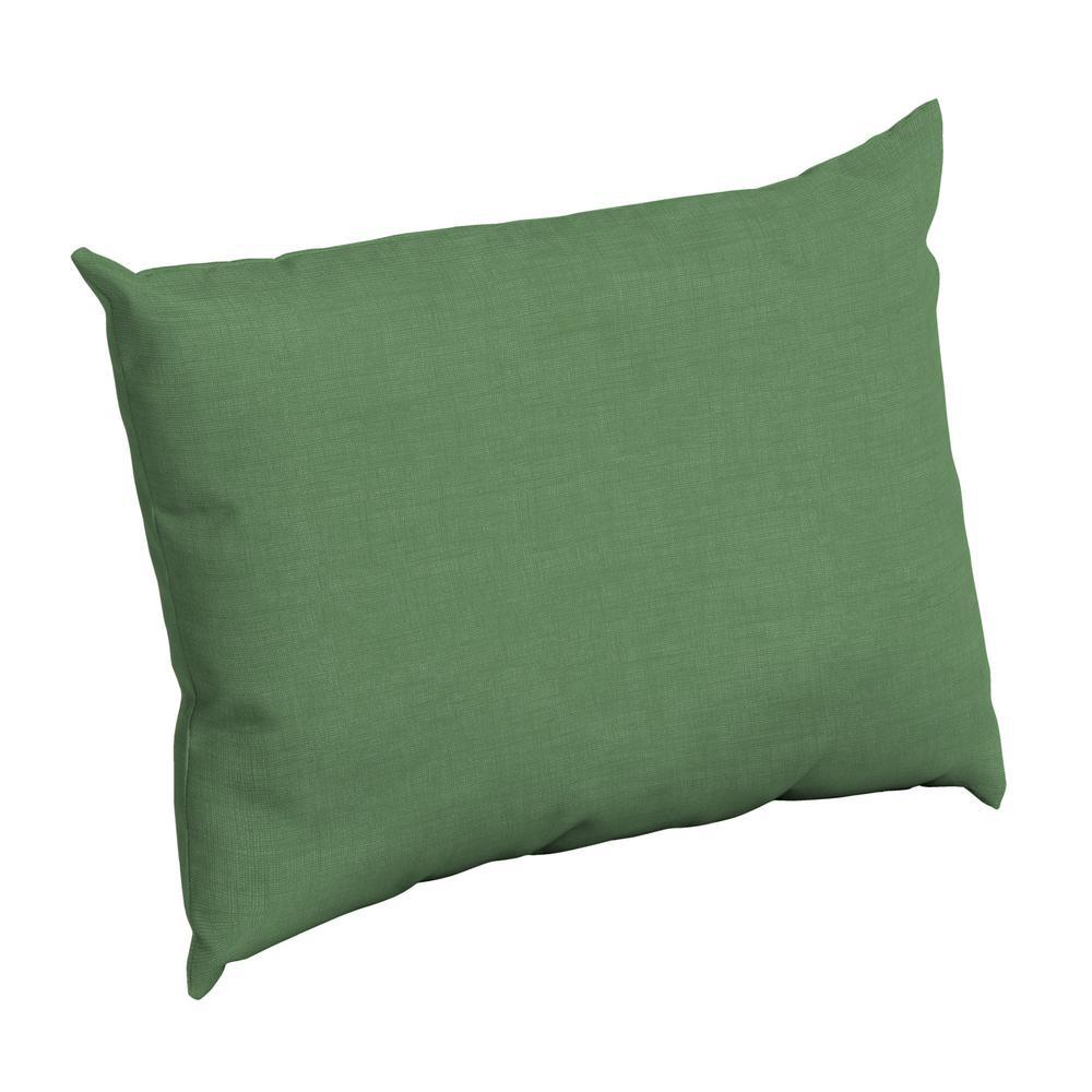 Moss Leala Texture Rectangle Outdoor Throw Pillow