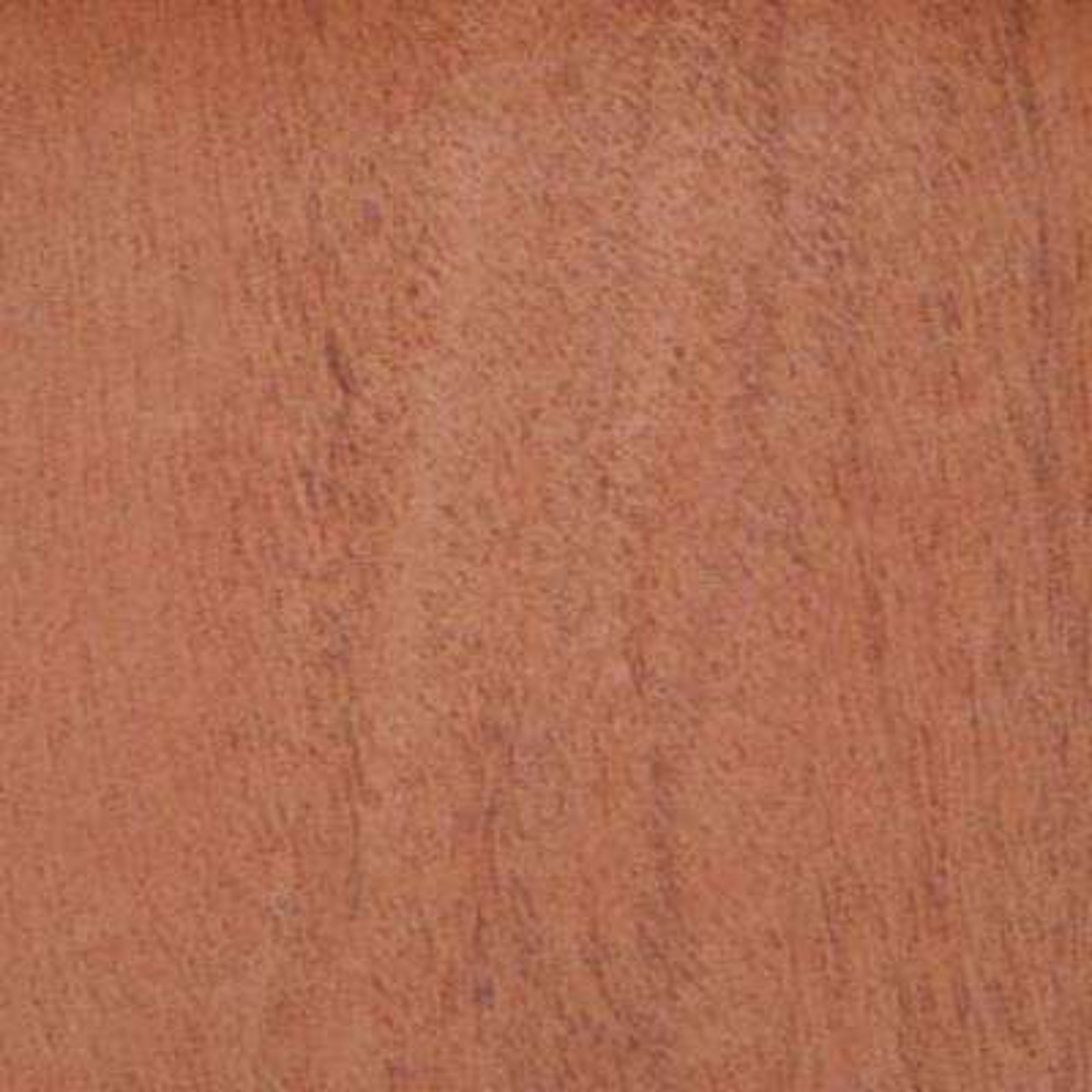 Edgemate 24 in. x 96 in. Mahogany Wood Veneer with 10 mil Paper Backer