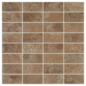 Travisano Venosa 12 in. x 12 in. x 8 mm Glazed Porcelain Mosaic Floor and Wall Tile (0.96 sq. ft. / piece)