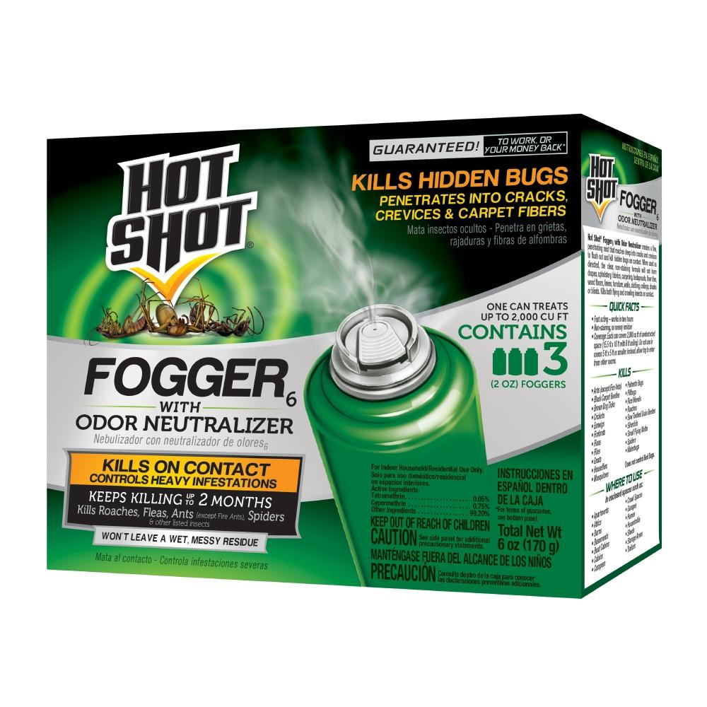 Hot Shot Fogger 2 oz. Aerosol with Odor Neutralizer (3-Pack)