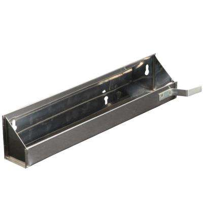 3 in. x 14.63 in. x 3 in. Steel Sink Front Tray with Stops Cabinet Organizer
