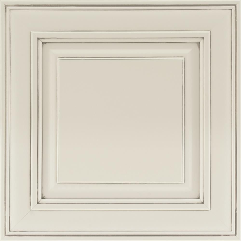 14-9/16 x 14-1/2 in. Cabinet Door Sample in Savannah Painted Ember