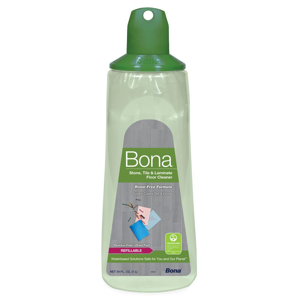 Bona Stone Tile And Laminate Floor Cleaner Refill Cartridge The Home Depot
